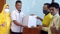 Usman Marham Pendaftar Pertama Balon Ketua DPD II Golkar Pinrang