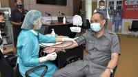Ketua DPRD Pinrang Harap Semua Anggota DPRD Ikut Vaksinasi Covid 19
