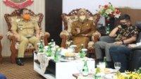 Danny Pomanto Rapat Perdana dengan Pimpinan DPRD Makassar