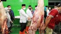 Pastikan Harga Daging Stabil, Plt Gubernur Sulsel dan Wali Kota Tinjau RPH