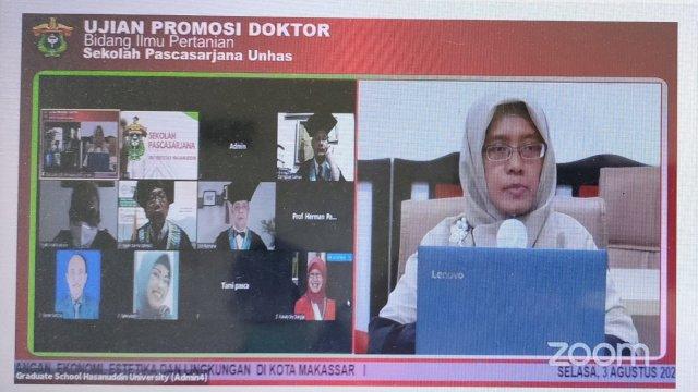 Teliti Pertanian di Perkotaan, Diah Retno Dwi Hastuti Raih Gelar Doktor